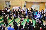 מופע פלאש מוב בכנס בבר אילן