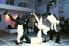 מופע ריקודי רחוב לבר מצווה