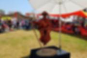 פסלים חיים לאירועי חוצות ופסטיבלים