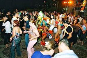 הרקדת קהל וריקודי שורות
