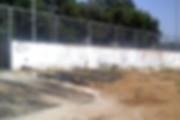 קיר גרפיטי לפני צביעה