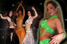 דמויות שטח רקדניות בטן