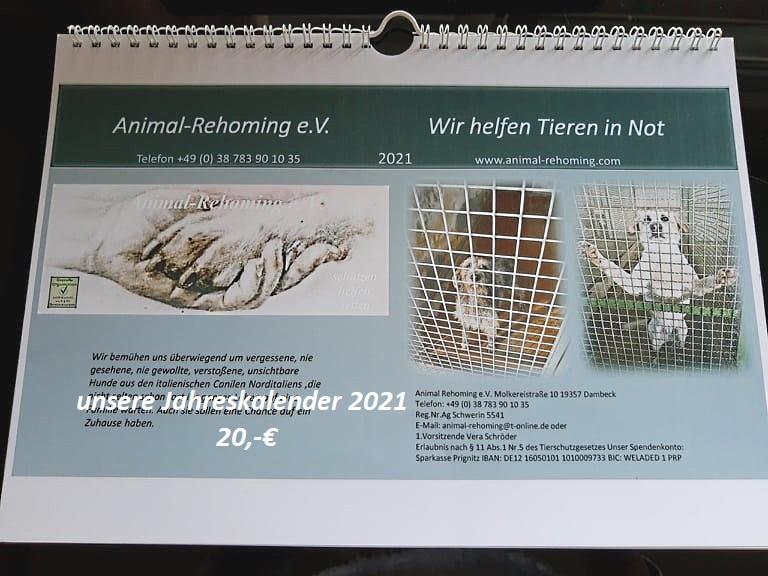 Jahreskalender  20,-€