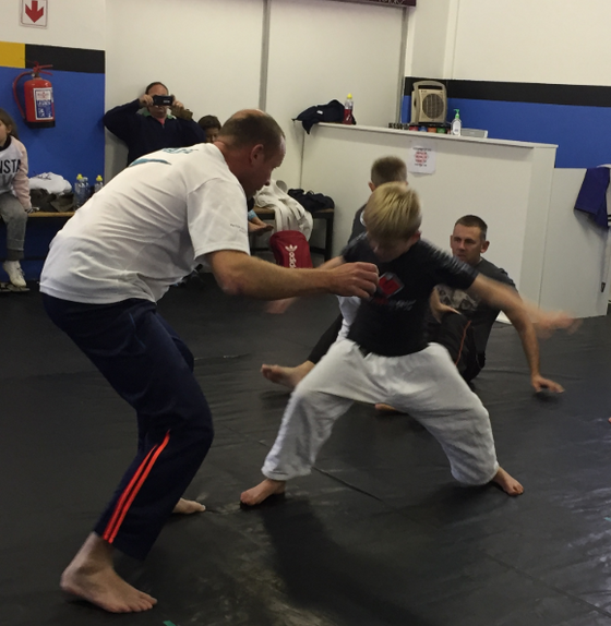 Fathers' Day at Iron Grip Martial Arts Brackenfell June 2018