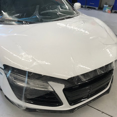 Audi R8 Hood