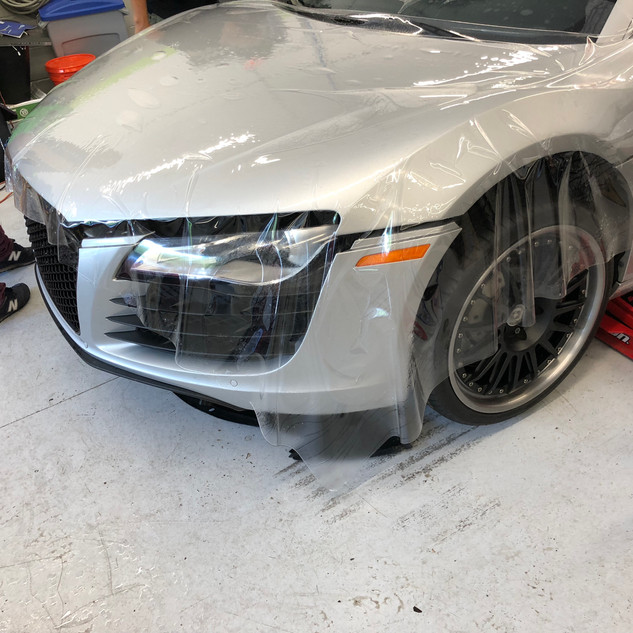 Audi R8 Full hood Coverage