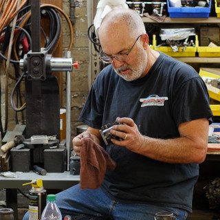 Chris Braun restoring Winfield Carburetors