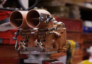 Winfield Carburetor Restoration at brauns Motorsports in Los Angeles