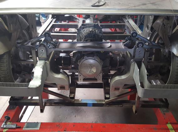 Twin Turbo Custom Chevelle Racecar