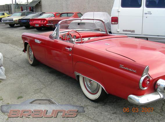 1957 TBird Supercharger