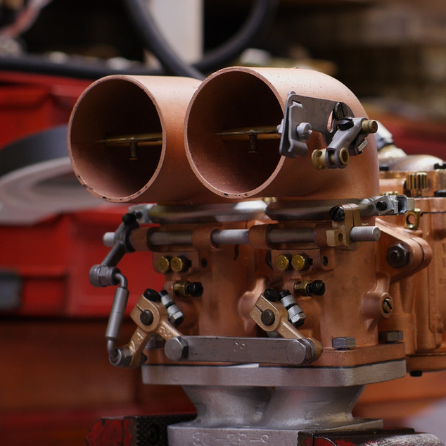 Dual B Winfields with rare, brass dual fuel inlet