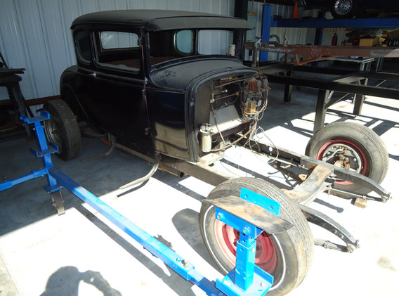 Ford Model A Cragar OHC 4 Banger