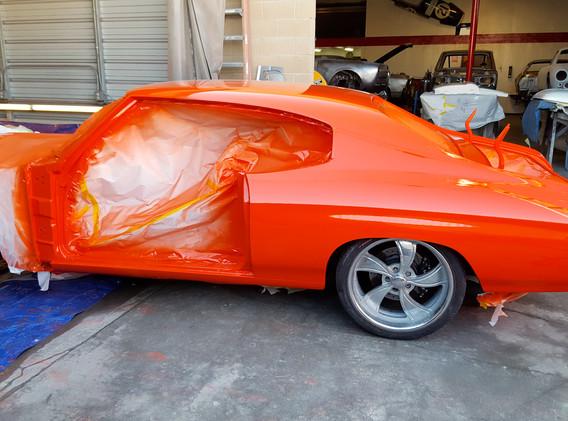 The Orange Rod - 1970 Chevelle
