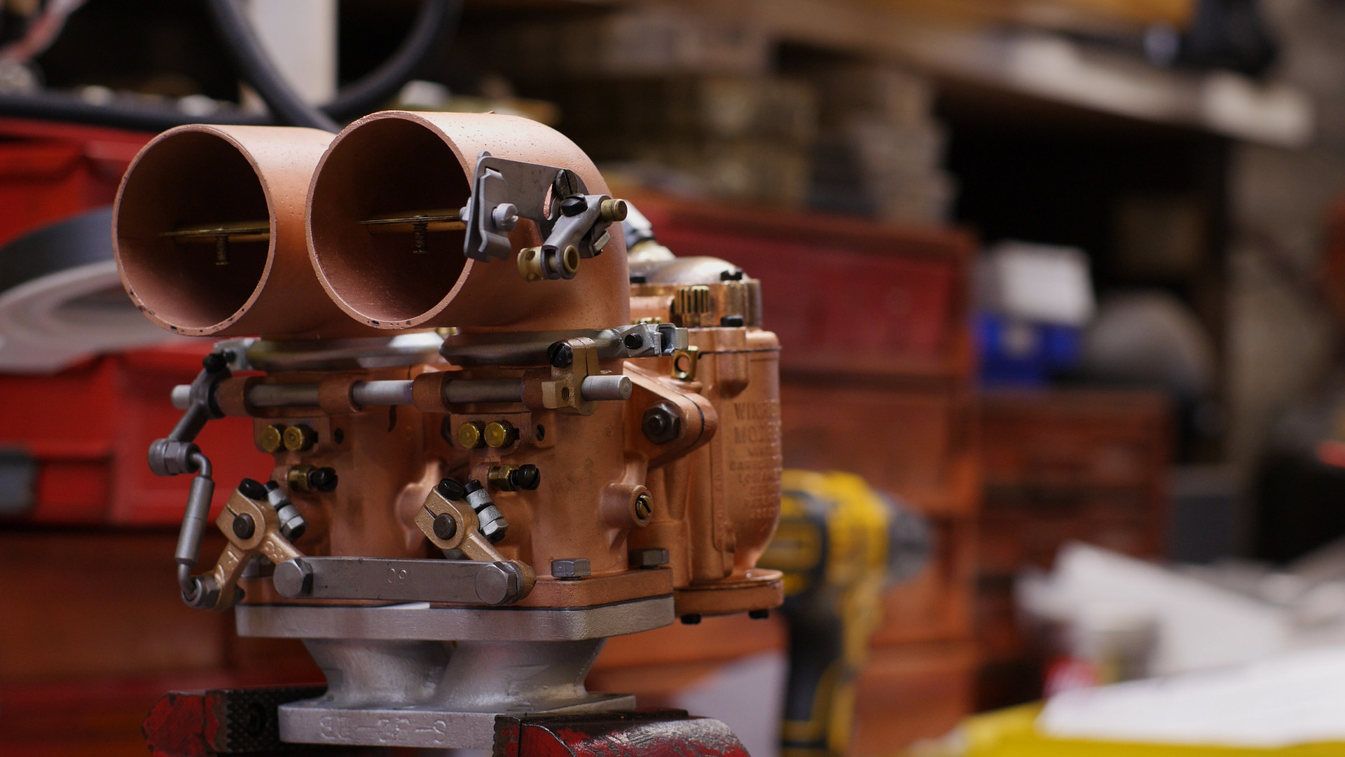 Winfield Carburetor Restoration