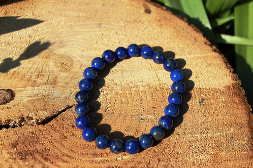 Bracelet lapis lazuli 08mm AA