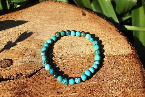 Bracelet en turquoise du Tibet