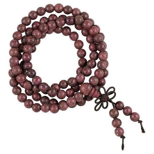 Mala bois de violette 108 perles