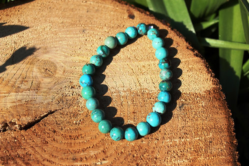 Bracelet turquoise du Tibet