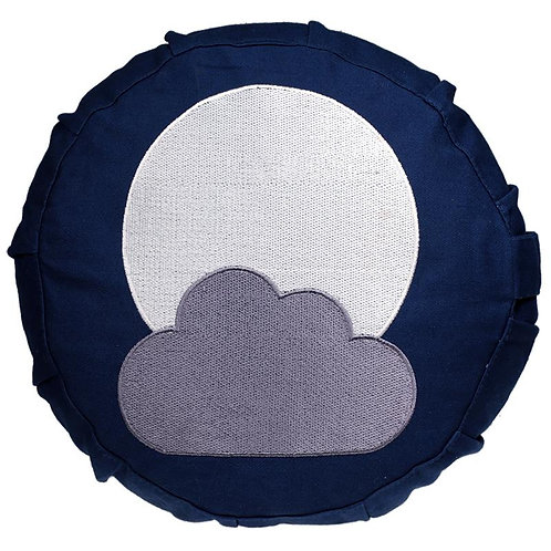 Coussin de méditation lune pour enfant