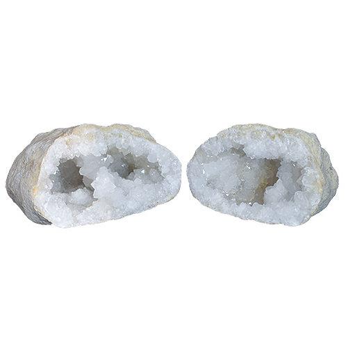 Géodes quartz de cristal de roche