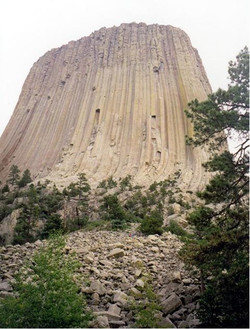 Devil's tower, Wyoming.