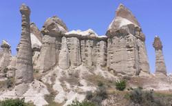 Tuf_volcanique_érodé_de_Cappadoce