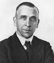 Portrait d'Alfred Wegener