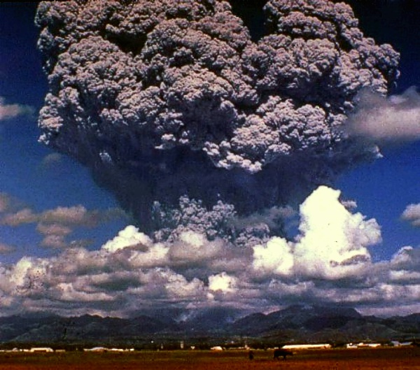 Nuage de cendres du Pinatubo