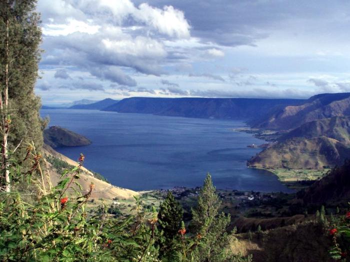 Le Danau Toba.