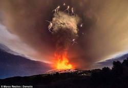 Eruption Etna 4