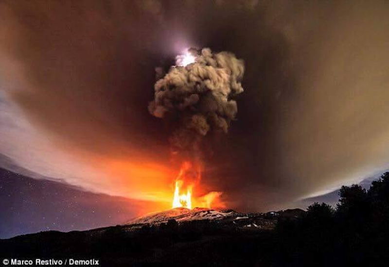 Eruption Etna 3