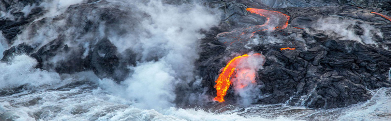 Coulée Kilauea Hawaï