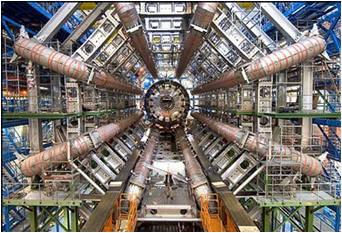 Large Hadron Collider (LHC, ou Grand collisionneur de hadrons en français)
