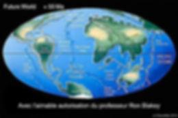 Les continents dans 50 millions d'années.