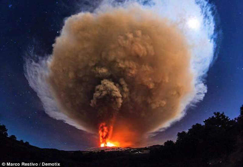Eruption Etna 1