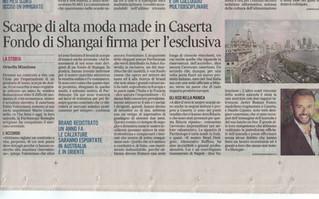 Anche IL MATTINO di Napoli parla del nostro successo in Asia