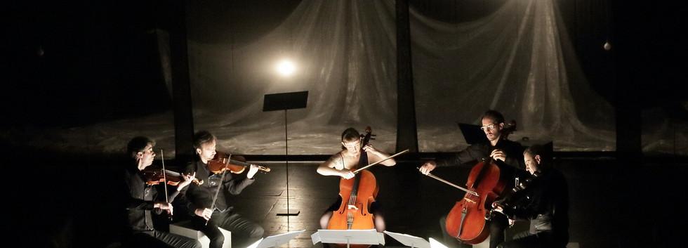 Schubert-D'Adamo-Quintette sur vestiges