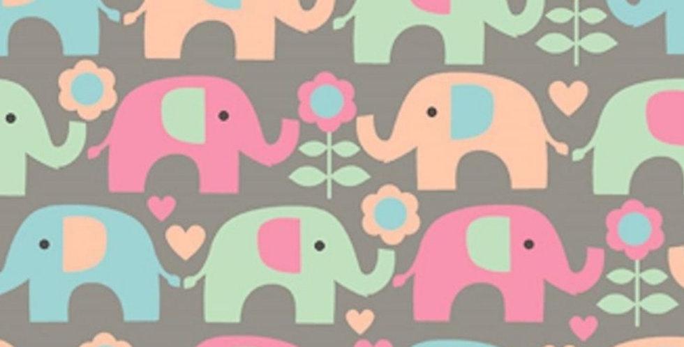 Lençol - Elefante Colorido