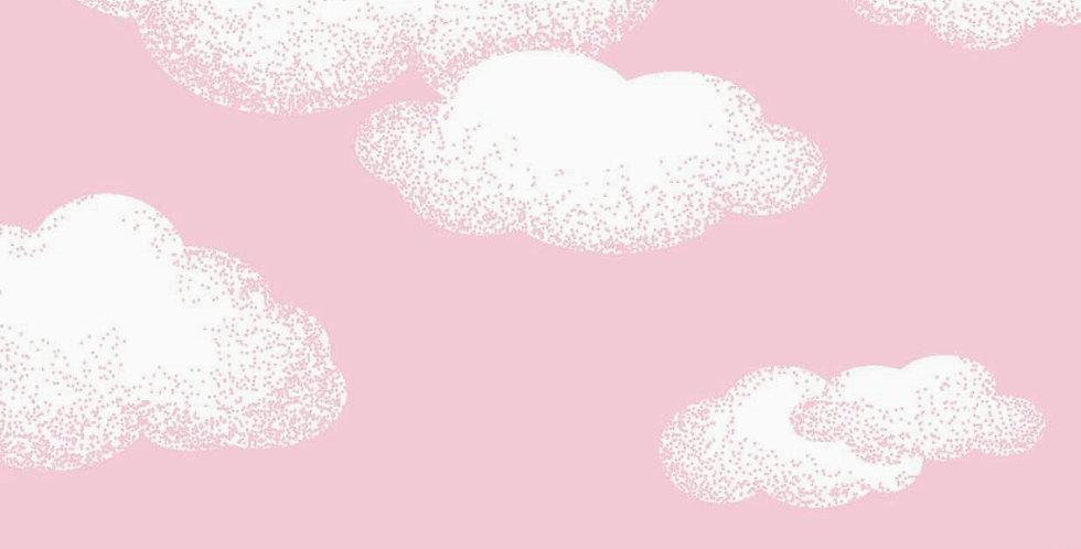 Lençol - Nuvem Rosa