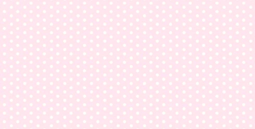 Lençol - Poá Rosa Bebê