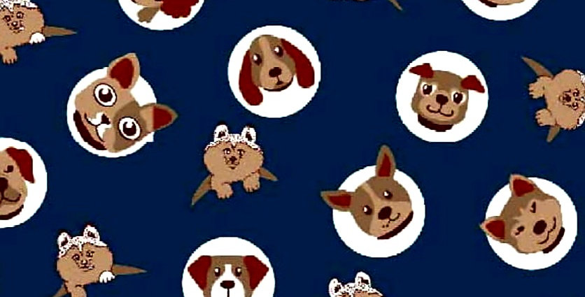 Lençol - Dogs