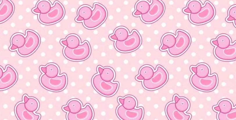 Ninho Baby - Patinho Rosa