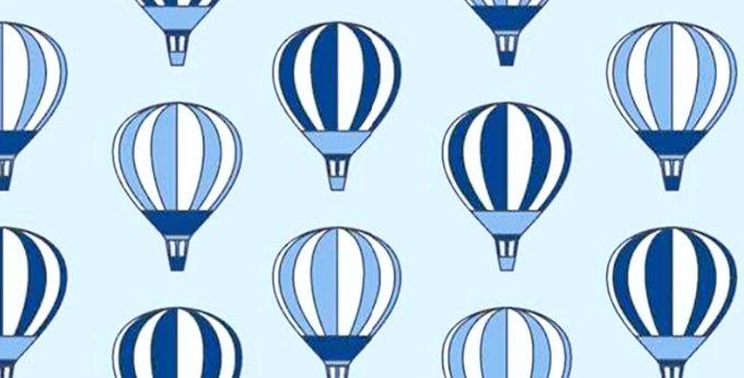 Lençol - Balão Azul