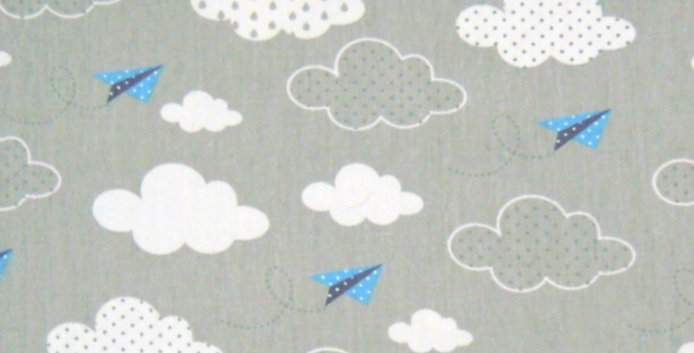 Ninho Baby - Nuvem Cinza e Aviãozinho