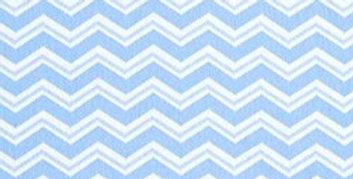 Lençol - Chevron Azul Duplo