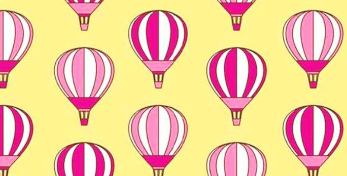 Lençol - Balão Rosa