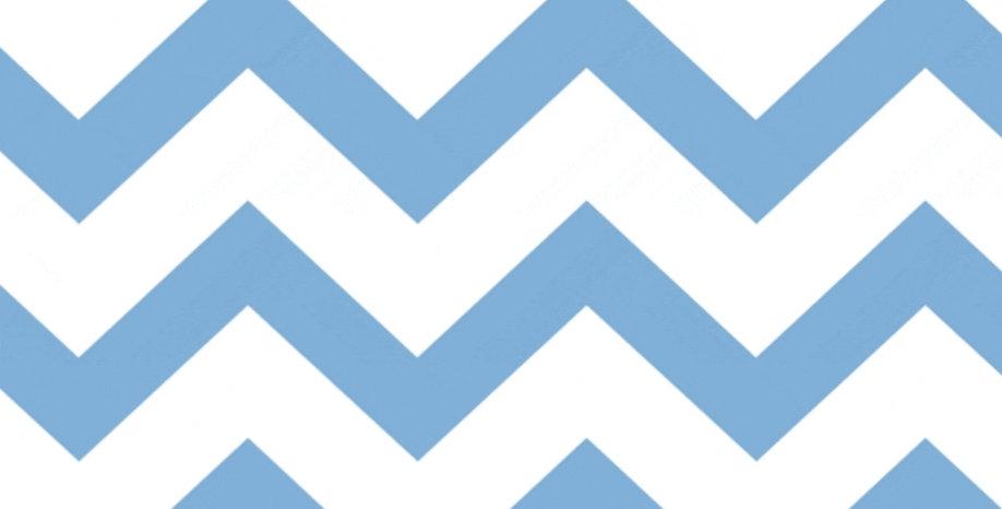 Ninho Baby - Chevron Azul
