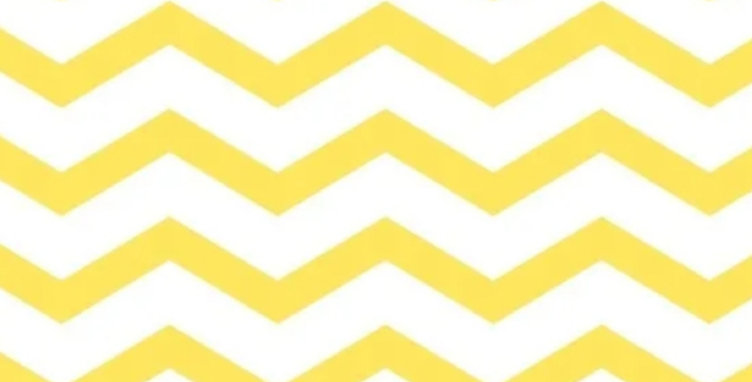 Lençol - Chevron Amarelo