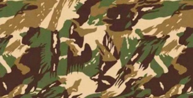 Lençol - Camuflado Marrom