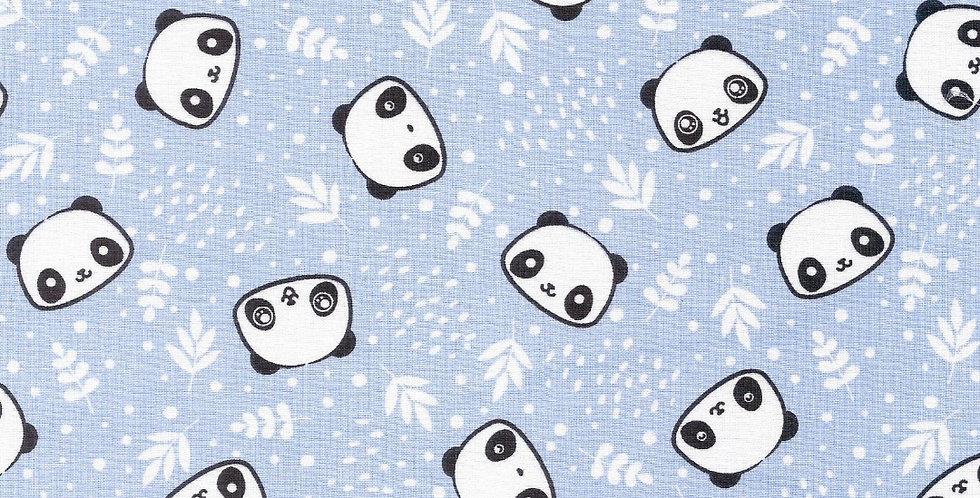 Lençol - Panda Azul
